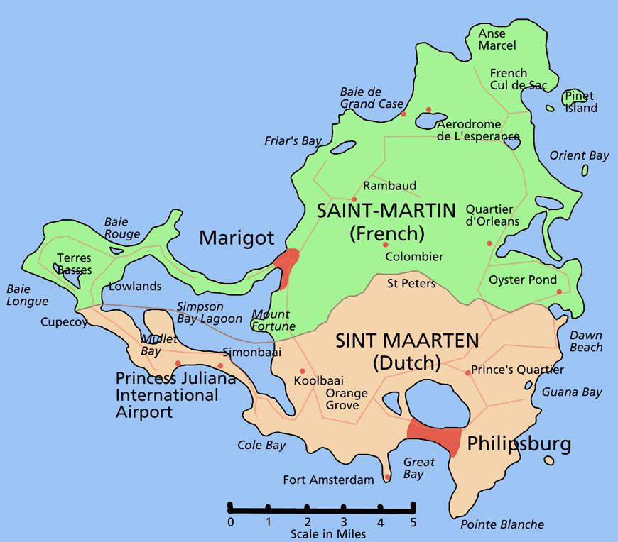 carte de saint martin SXM Loc St Maarten   car rental in St Maarten   St Martin : Call