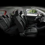 Kia Picanto interior car rental sint maarten with SXM Loc St Maarten