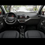 Kia Picanto interior car rental st maarten with SXM Loc St Maarten